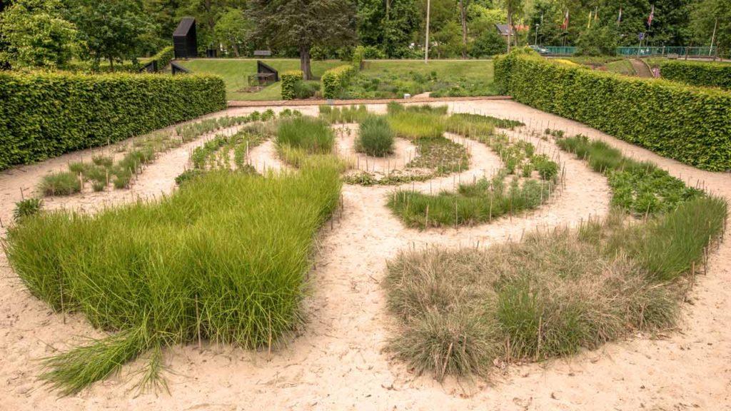 Jardin labyrinthe
